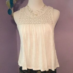 Forever21 lace crop top